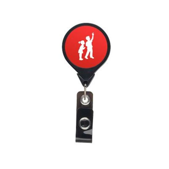 Picture of Round Badge Reel with Belt Clip