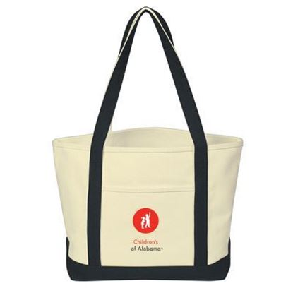 Picture of Heavy Canvas Boat Tote