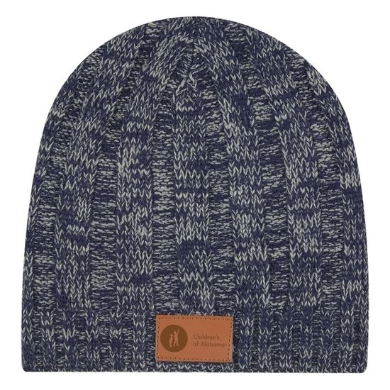 Picture of Navy Heathered Beanie