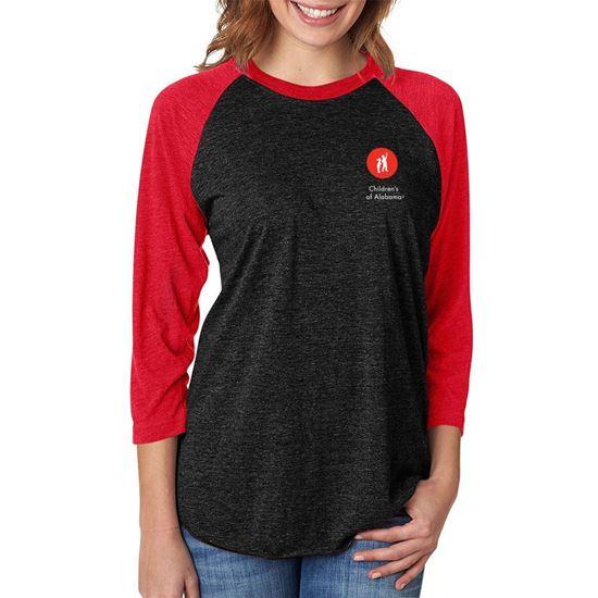 Picture of Unisex Raglan Shirt
