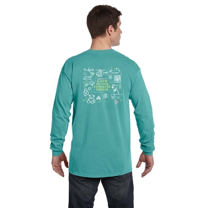 Picture of Long Sleeve Comfort Colors Chalk Design Shirt